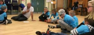 Sommerskolen på Synscenter Refsnæs fylder 50 og Stemmedoktor var med.