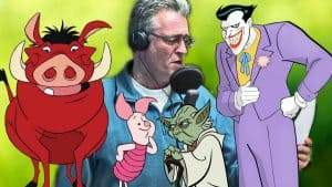Talepædagog analyserer DR's Lars Thiesgaards performance i tegnefilm.