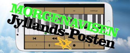 Jyllands-Posten – Syng og spil rent med ny app